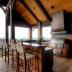 Many Highlands Homes benefit tremendously from Outdoor kitchens